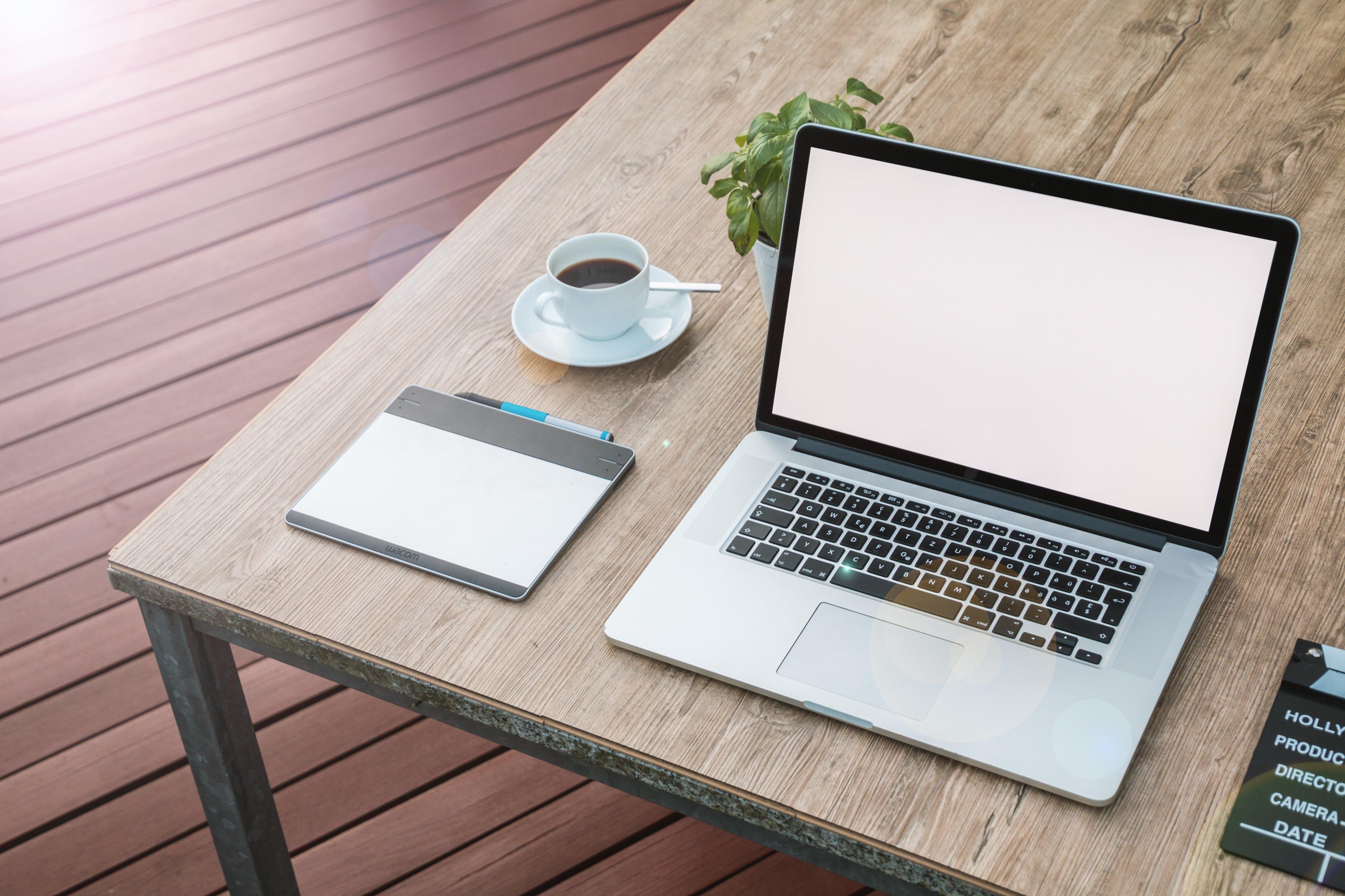 Espacio designado para trabajar desde casa y ser productivo